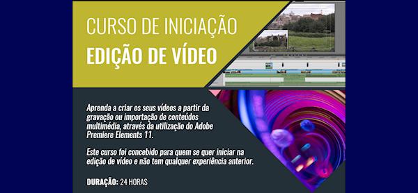Curso de Iniciação à Edição de Vídeo